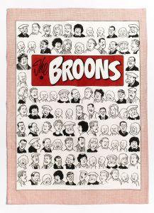 The Broons Portraits Tea Towel