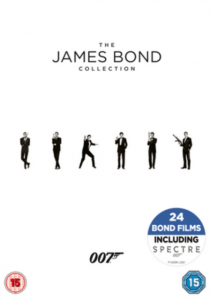The James Bond Collection - 24 DVDs