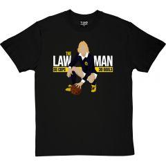 Scotland The Law Man 55 Caps T-Shirt