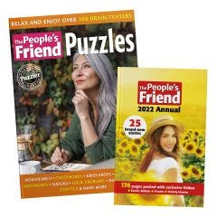 The People's Friend Annual 2022 and Puzzles