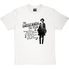 Outlander-style The Sassenach On Tour T-shirt