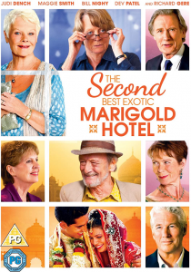 Second Best Exotic Marigold Hotel DVD