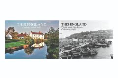 This England Then & Now Calendar Pack 2022