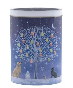 Tree of Gifts Clotted Cream Fudge Tin