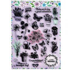 Purple Stamp It Sheet