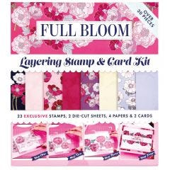 Docrafts Full Bloom Layering Card Kit