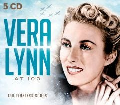 Vera Lynn: 100 Timeless Songs 5 CD Set