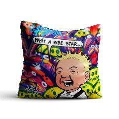 Oor Wullie Wee Star Cushion