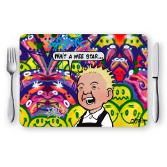 Oor Wullie Wee Star Placemat