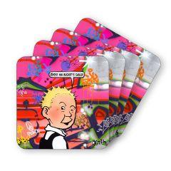 Wee Wullie Coasters (4)