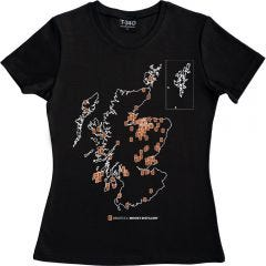 Whisky Tour Ladies T-shirt