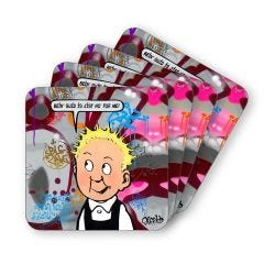 Wonder Wullie Coasters (4)
