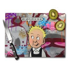 Wonder Wullie Chopping Board