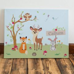 Woodland Wall Canvas