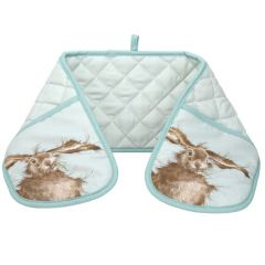 Wrendale Hare Brained Double Oven Glove