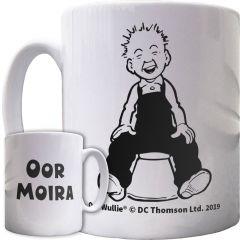 Oor Wullie on a Bucket Personalised Mug