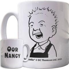 Oor Wullie Smiling Personalised Mug