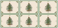 Pimpernel Christmas Tree Placemats Set of 6