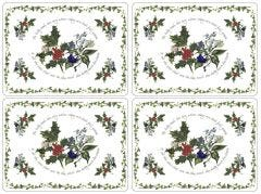 Pimpernel The Holly & The Ivy Placemats Set of 4