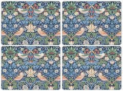 Strawberry Thief Blue Placemats Set of 4