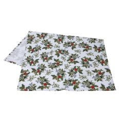 The Holly and The Ivy Tea Towel