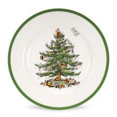 Christmas Tree Dinner Plates - Set of 4