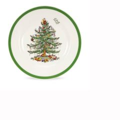 Christmas Tree Side Plates - Set of 4