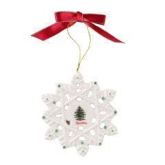 Christmas Tree Snowflake Decoration