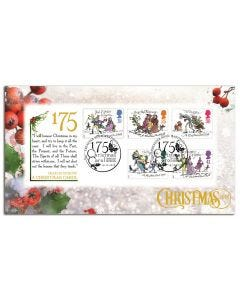 'A Christmas Carol' 175th Anniversary Collectable Stamps