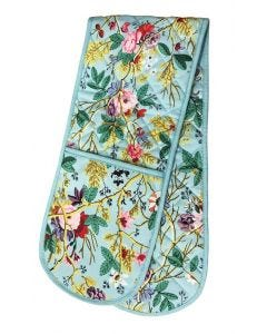 Blue Chintz Double Oven Glove