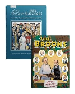 The Broons and Oor Wullie Book Pack 2020