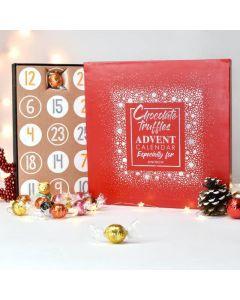 Personalised Truffles Advent Calendar