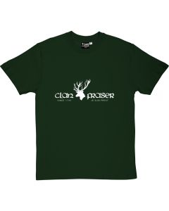 Outlander Clan Fraser T-shirt