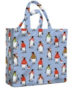 Cosy Penguins Medium PVC Bag