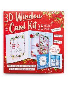 Xmas Window Card kit
