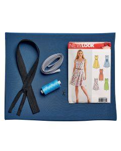 Day Dress in Blue