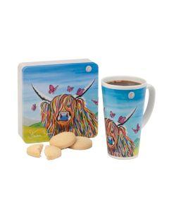 Dean's Steven Brown Art Shortbread & Latte Mug Gift Set