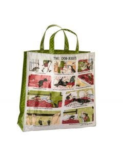 The Dog Rules Medium PVC Bag