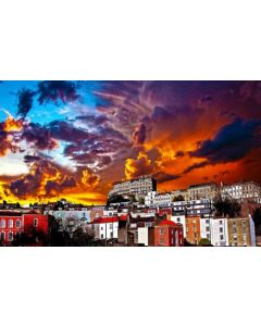 Dramatic Sunset Jigsaw