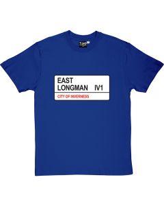 East Longman St Sign T-Shirt