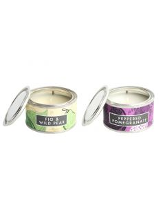 Fig & Wild Pear and Peppered Pomegranate Candle Pack