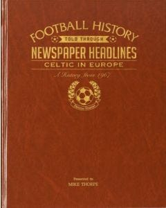 Football Newspaper Book - Celtic in Europe