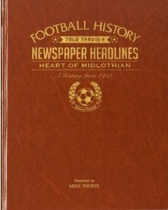Football Newspaper Book - Hearts