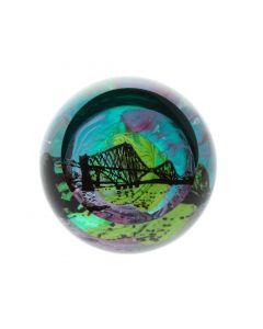 Caithness Glass Landmarks - Forth Rail Bridge Paperweight