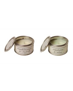 Frankincense & Myrrh and Mistletoe & Wine Candle Pack