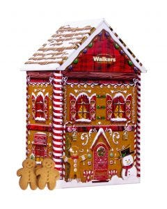 Walkers Gingerbread House Tin