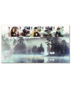 Harry Potter Myth & Magic Stamps - Stag Patronus