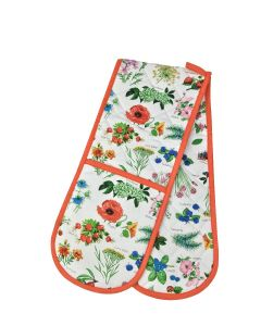 Hedgerow Double Oven Gloves