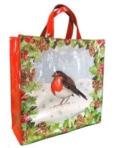 Holly & Robin Medium PVC Bag