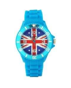 Brand New with Box Union Jack Blue Strap Unisex Watch